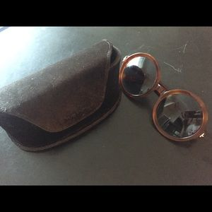 TOM  FORD Round sunglasses (With case)